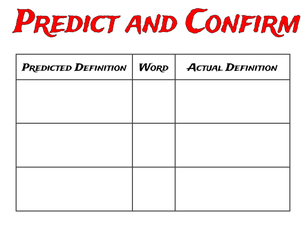 Predict and Confirm