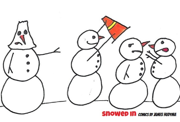 conehead snowman