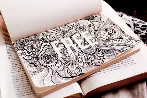 typographical Zentangle