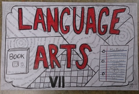 typographical zentangle