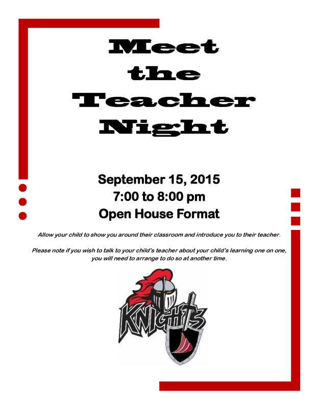 Meet the Teacher 2015